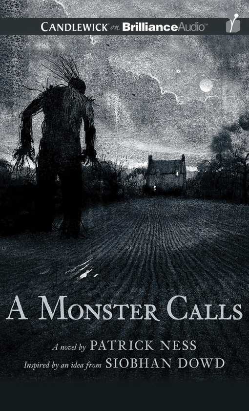 a monster calls bookjacket